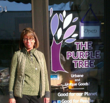 Sarah Bruch at purple Tree